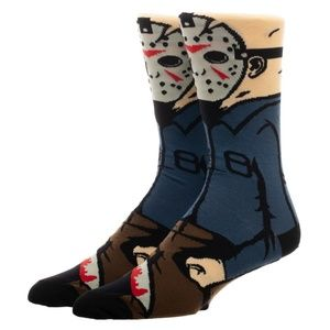 Men's Socks Jason Voorhees 360 Friday The 13th
